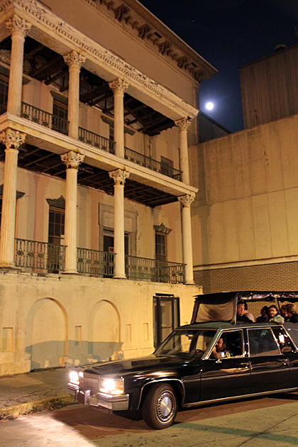 Seeing Savannah's Evil Side from a Hearse