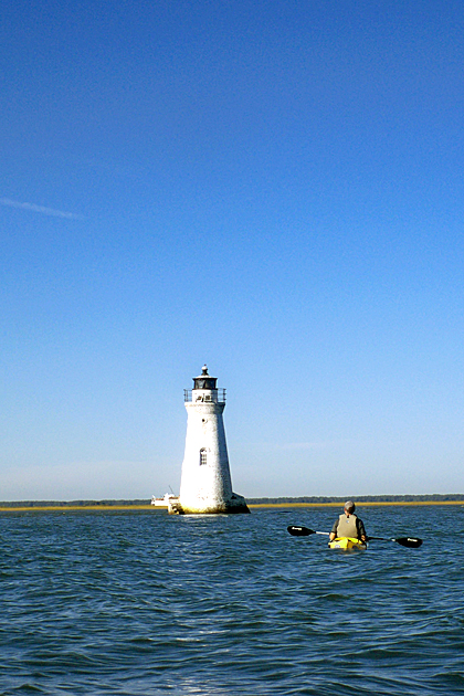 In the Water with North Island Kayak