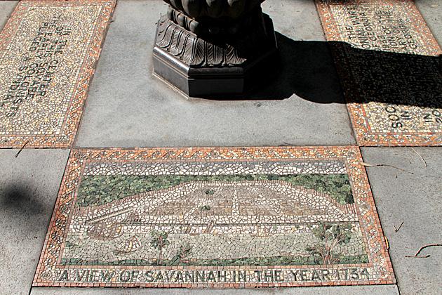 The 24 Squares of Savannah