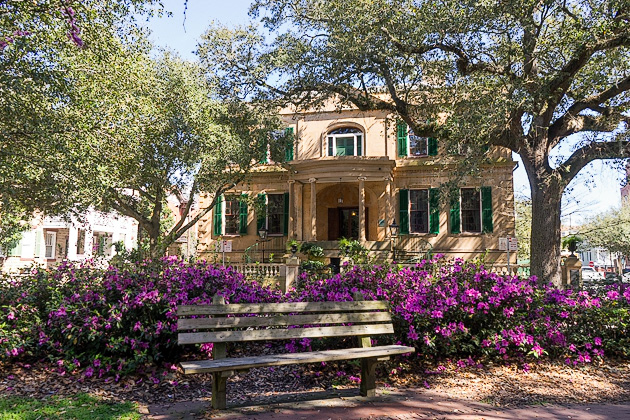 Oglethorpe Square Savannah