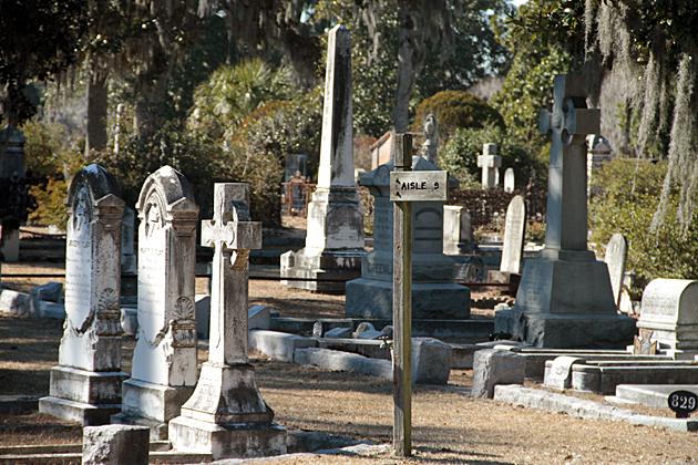 Aisle 9 Cemetery