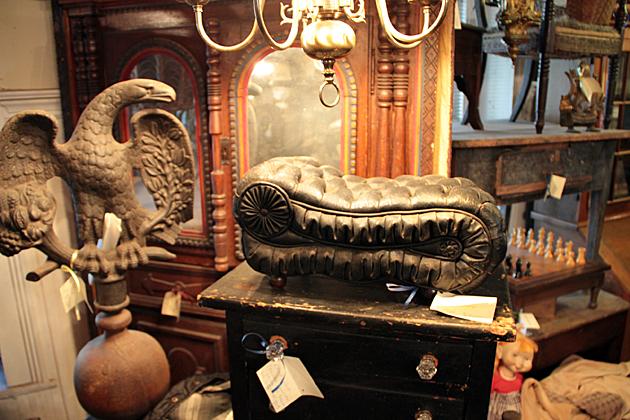 Antique Dog Bed