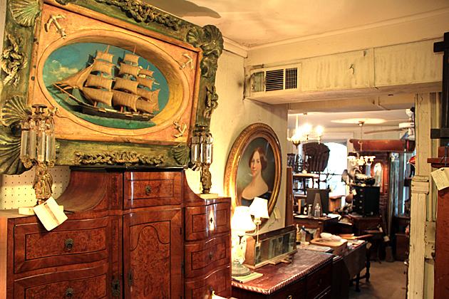 Antique Sailing Boat