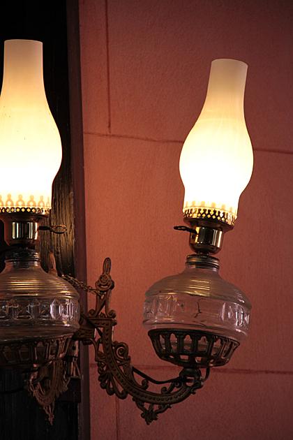 Blufton Gas Lamp