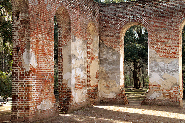 Church Ruins USA