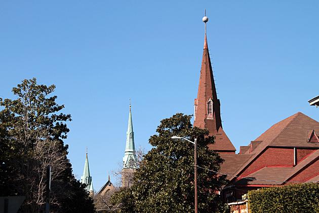 Churches of Savannah