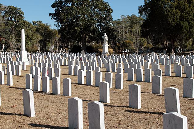 Confederate Graves Savannah