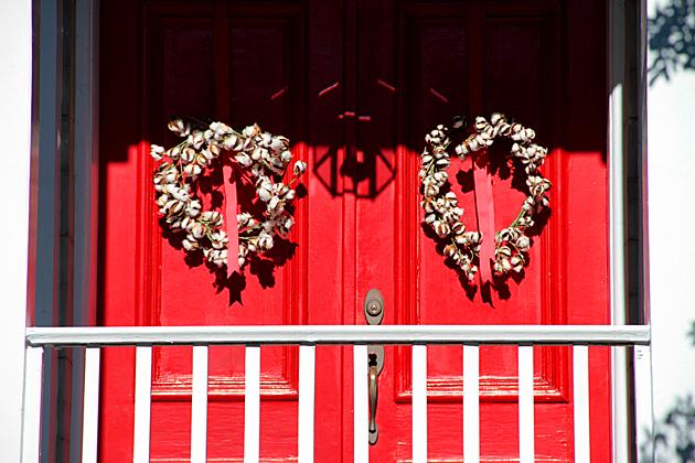 Cotton Red Door