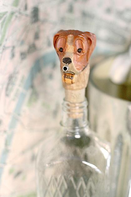 Dog Bottle Head