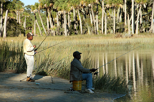 Fishing in the south
