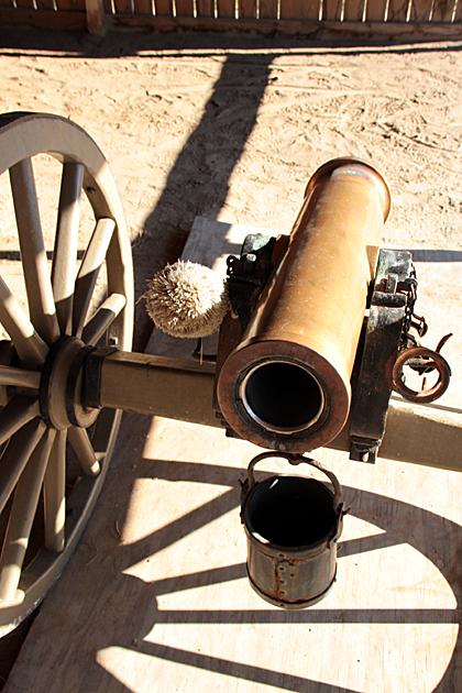 Fort Jackson Canon