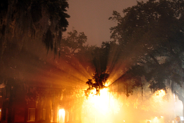 Ghost Tunnel Savannah