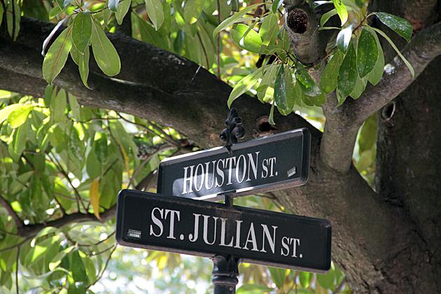 Houston street savannah