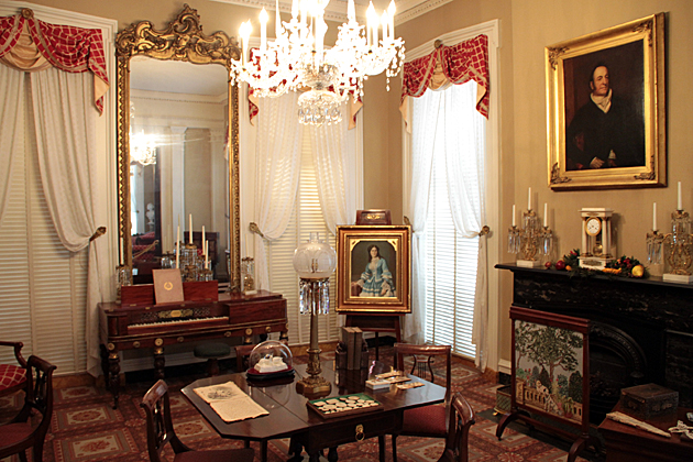 Inside Andrew Low House