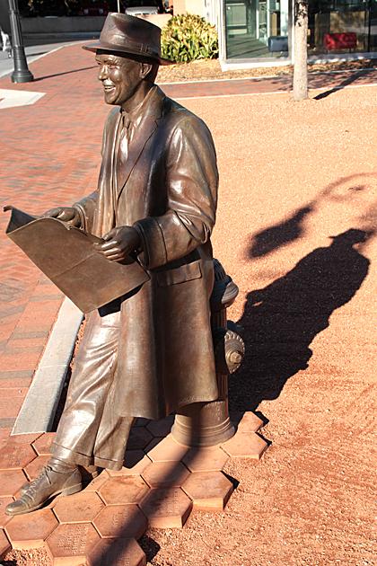 Mercer Statue