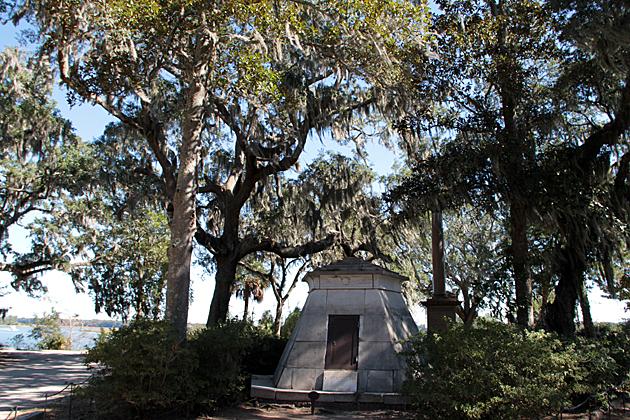 Pyramad in Savannah