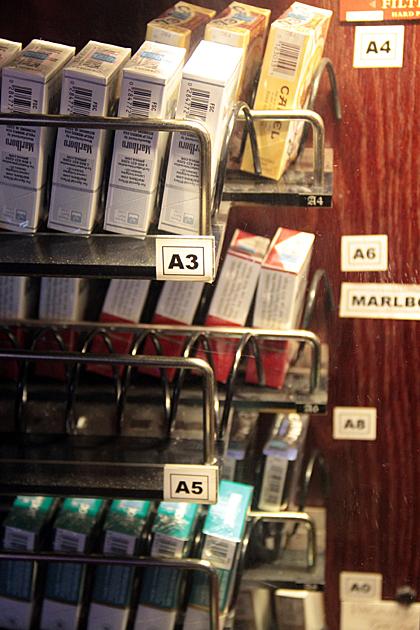 Retro Cig Vending