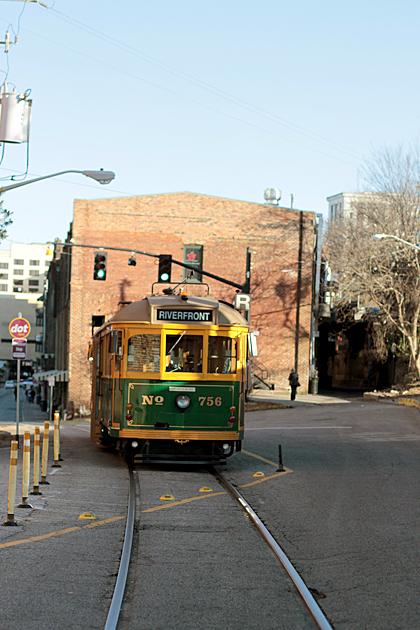 Riverfront Trolley
