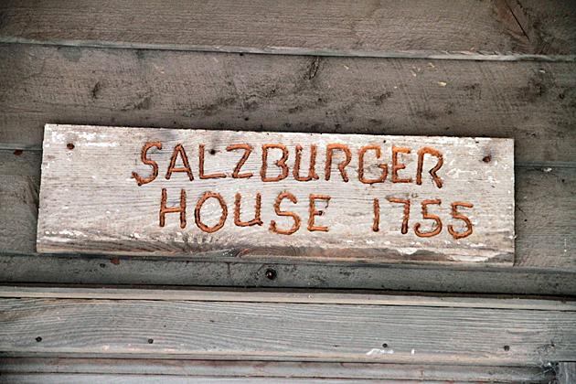 Salzburger House 1755