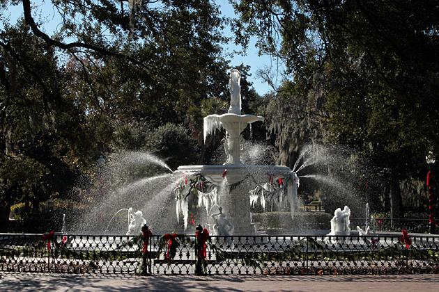 Savannah Fountain ICE