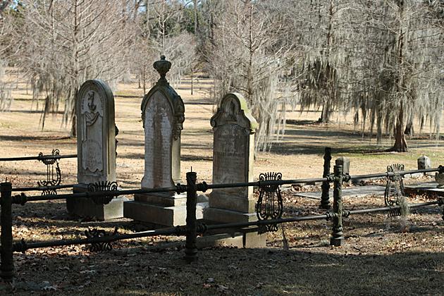 Three Grave Stones