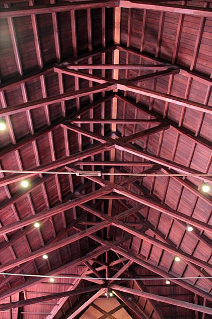 blufton church roof