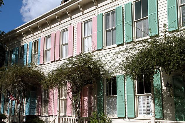 candy houses Savannah