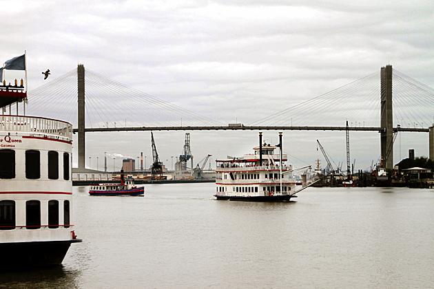 savannah river boats