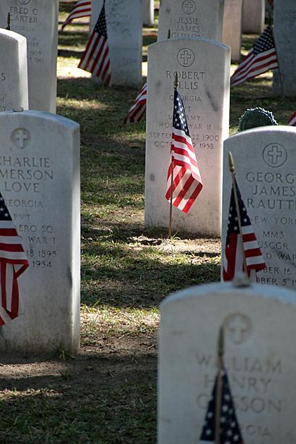 soldier grave