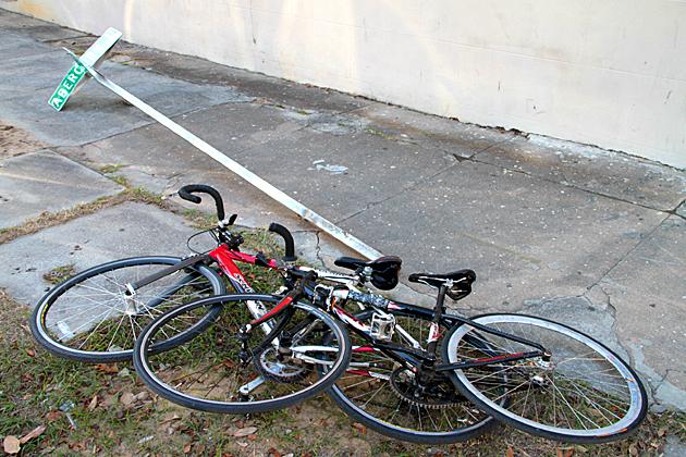 stealing bikes in Savannah 2