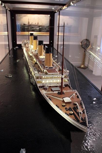 titanic in Savannah
